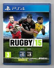 rugby 15 - jeu Sony Playstation 4 PS4