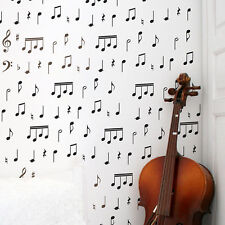 Musical Notes Wall Art Stencil - Reusable Stencils for Walls- DIY Home Decor