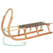 Hörnerschlitten hörnerrodel trineo 120,5 cm madera trineo reservar madera