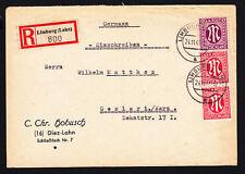 Echte BPP-Signatur Briefmarken aus Deutschland (ab 1945) mit Mischfrankatur