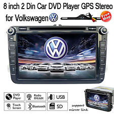 "For VW Golf MK5 Passat CC EOS 2006-2012 8"" 2Din car dvd player GPS stereo radio"