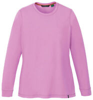 North End Women's New Organic Jersey Long Sleeve Crewneck Sweater. 78634