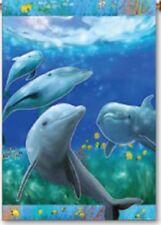"Fun Dolphins Garden Size (13"" x 18"" Approx) Flag PR 51982"