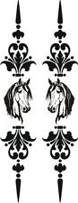 LARGE SCROLL DECAL UTE 4WD HORSE FLOAT TRUCK