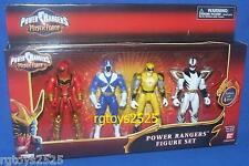 """Power Ranger 5"""" Dino Thunder White Mystic Force Red Lightspeed Blue Ninja Storm"""