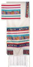 Tallit Tallis Talit Jerusalem Wall Kosher Israel + BAG