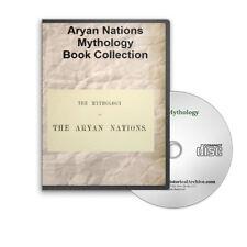 Mythology Aryan Nations 3 Book CD Japhet  Indo-Germanian George William Cox D167