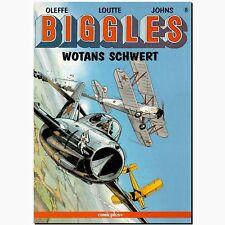 Biggles 8 Wotans Schwert FLIEGERSTAFFEL Michael Oleffe ABENTEUER COMIC 1. Aufl.