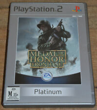 Medal of Honor: Frontline (PS2, 2002) - PAL - Complete in Case