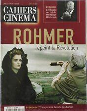 CAHIERS DU CINÉMA 559/ROHMER/ANGLAISE ET LE DUC/Le musée secret de Mr HITCHCOCK