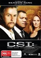 CSI: Crime Scene Investigation : Series 9 (DVD, 2010, 6-Disc Set) : NEW