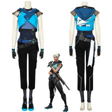 Valorant Jett Costume Cosplay Suit Women's Outfit