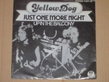"YELLOW DOG -Just One More Night- 7"" 45"
