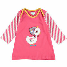 Lilly & Sid Baby Girl's Embroidered Duck Dress, Pink 0-3 Months - New