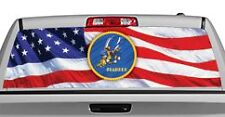 Truck Rear Window Decal Graphic [Military / Seabees] 20x65in DC07706
