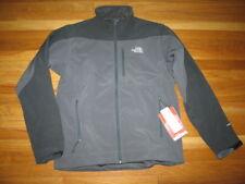 BNWT Mens The North Face Sentinel Windstop Jacket Fleece Shell gray black M  Med 8b10c7c09