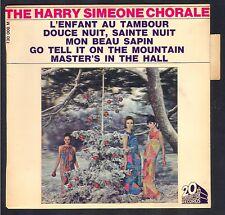 45T NOEL CHRISTMAS THE HARRY SIMEONE CHORALE RARE POCHETTE HOLOGRAMME