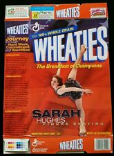 Sarah Hughes Wheaties Box - OLYMPIC Gold Medal Figure Skating