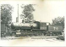 JJ404 RP 1930/50s? SOUTHERN RAILROAD TRAIN ENGINE #76 S. RICHMOND VA