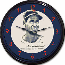 Ted Williams Boston Red Sox Wheaties Wall Clock Cereal Box Image Man Cave MLB