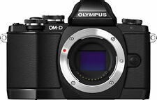 Olympus O-MD E-M10 (V1) Camera Body Black Mirrorless Micro 4/3 Digital Camera