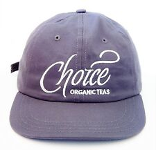 ORGANIC COTTON Made In The USA Choice TEAS Strapback Hat Polo Dad Mountain Trout