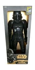 "SDCC 2014 Jakks Pacific Star Wars 31"" Shadow Stormtrooper 212 / 500 NEW"