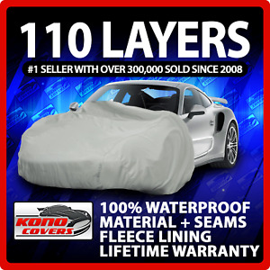 Fleeced Satin FS17495F5 Covercraft Custom Fit Car Cover for Select Toyota Prius V Models Black