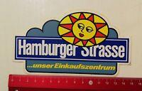 Aufkleber/Sticker: Hamburger Strasse unser Einkaufszentrum (23041744)