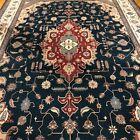 High Quality Handmade In Pakistan Area Rug 9x13 Geometric Design Tribal Pattern