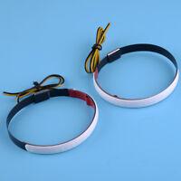 Neu Motorrad Paar Amber LED 45mm-70mm Gabel Blinker Licht Kreis LED Streifen 12V