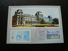 FRANCE - carte 1er jour 15/5/1973 (centre telephonique tuileries) (cy38) french