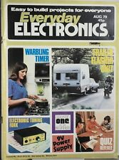 Everyday Electronics Vintage British Magazine Aug1979 - Electronic Tuning Fork