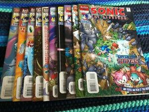 Sonic the Hedgehog Comic Book Lot
