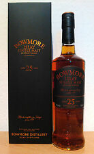 Bowmore 25 años Islay Single Malt Bottled 2008 small batch release 43%/0,7l