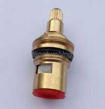 Replacement Brass Ceramic Disc Tap Valve Quarter Turn Cartridge Gland Insert Hot