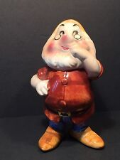 "Walt Disney Productions Figurine Snow White Doc Japan 4"""