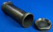 Vintage Hand Crafted Miner's Lamp Carbide Container 2 Chambers