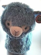 "15"" blue DOLLY LLAMA large plush stuffed animal Brand New!! With Tags Fluffy"