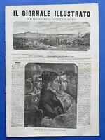 Il giornale illustrato - Numero del centenario - Dante - Anno II - N° 19 - 1865