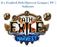🔥 Path of Exile  Harvest League 🔥 | 2 x  Exalted orb | Softcore  | PC