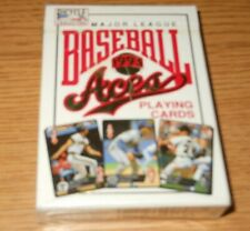 1993 Baseball Aces Bicycle Playing Cards Deck Unopened New Major League MLB