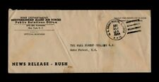 WAR DEPARTMENT MEDITERRANEAN ALLIED AIR FORCES Penalty Envelope to Wake Forest