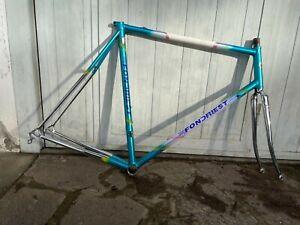 Telaio acciaio FONDRIEST COLUMBUS CROMOE steel  bike frame bici vintage eroica