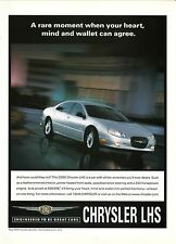 2000 Chrysler LHS Advertisement