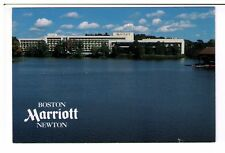 Postcard: Boston Marriott Newton, Commonwealth Avenue, Massachusetts, USA