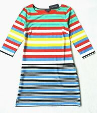 Tommy Hilfiger Women's Long Sleeve Knit Dresses, Multicolor
