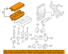FORD OEM 2007 Mustang 4.6L-V8-Electrical Fuse & Relay Box 7R3Z14A068E