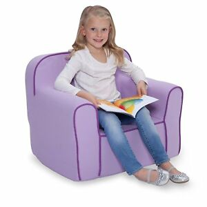 DELTA CHILDREN'S PRODUCTS FOAM SNUGGLE CHAIR, PURPLE