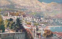 AK, Grafik, Monte Carlo - Panorama, 1907; 5026-106